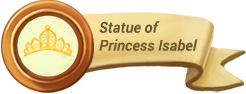 Statue of Princess Isabel